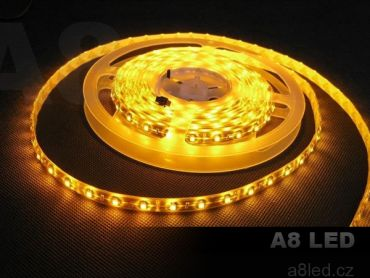 LED pásek žlutý PROFESIONAL voděodolný