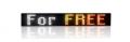 LED textový panel 15 barev RGB25-K