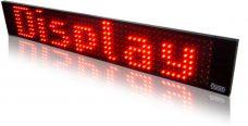 NOVÝ LED panel textový 25 x 100 cm