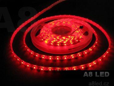LED pásek červený PROFESIONAL voděodolný