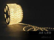 LED had teplá bílá 100m 24 diod/m s efektem