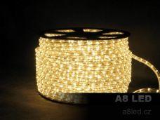 LED had teplá bílá 100m 36 diod/m