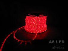 LED had červený 100 m 24 diod/m s efektem