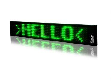 LED textový panel 16cm