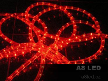 LED had červený 24 diod/m s efektem