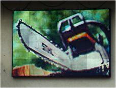 LED graficko-textový panel (LED OBRAZOVKA)