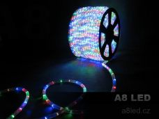 LED had multicolor 100m 24 diod/m s efektem