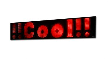 LED textový panel 48cm